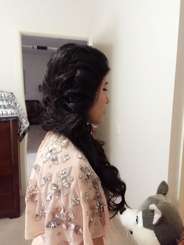 bridal hair and makeup sydney